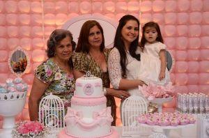 Iracy, filha, neta e bisneta