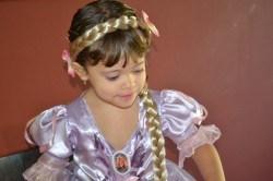 Com porte de Princesa